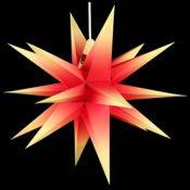 Weihnachtsstern - Rot-Gelb