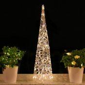 Weihnachtspyramide 90cm LED Lichtern
