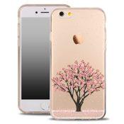 Design Case für iPhone mit Motiv Kirschbaum Rose