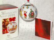Hutschenreuther Weihnachtskugel Porzelan