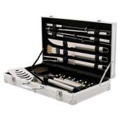 Grillbesteck Set mit Aluminiumkoffer
