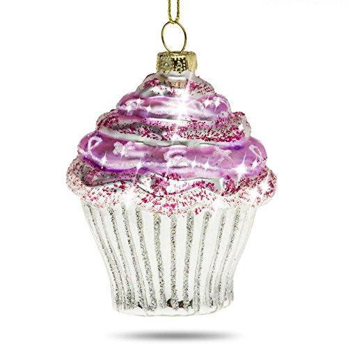 Christbaumschmuck Cupcake Pink