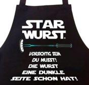 Schürze - Star Wurst