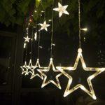 LED Lichterkette mit 12 Sternen