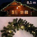 beleuchtete Weihnachtsgirlande