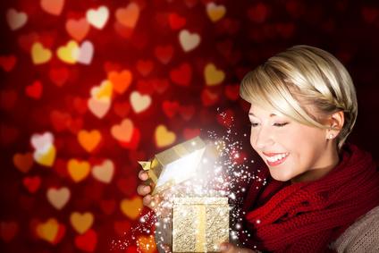 Weihnachtsbeleuchtung innen als Geschenk