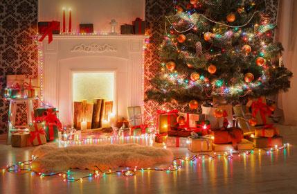 tolle Weihnachtsbeleuchtung für innen